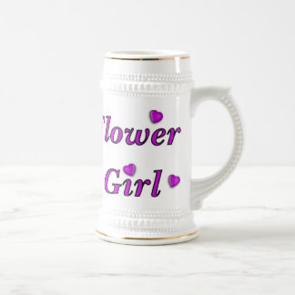 Flower Girl Beer Stein