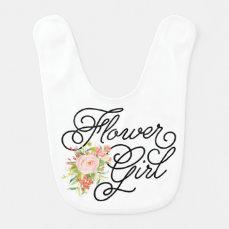 Flower Girl Bib   Bridesmaid
