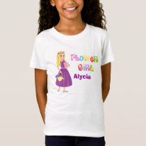 Flower Girl  - Blonde T-Shirt