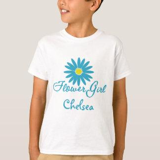 Flower Girl/ Blue Daisy T-Shirt