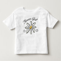 Flower Girl Bridal Party Toddler T-shirt