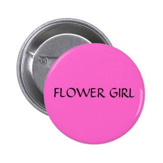 FLOWER GIRL - button
