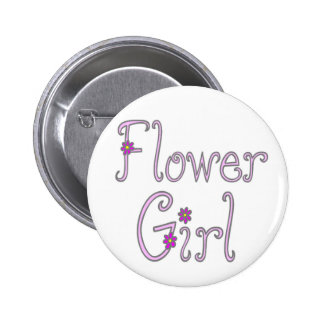 Flower Girl Buttons