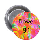 flower girl buttons