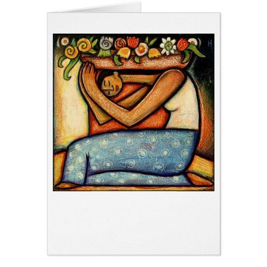 Flower Girl Card
