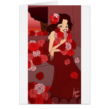 jasmineflynn Flower Girl Card