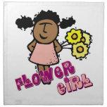 Flower Girl Cloth Napkins