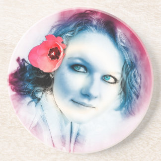 Flower Girl Coasters