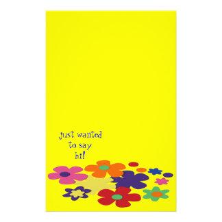 Flower Girl Customized Stationery