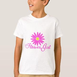 Flower Girl Daisy/ Pink T-Shirt