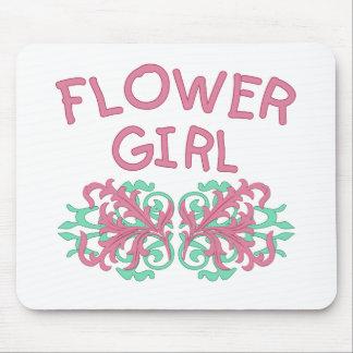 Flower Girl Design #2 Mouse Pad
