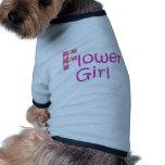 flower girl dog tee