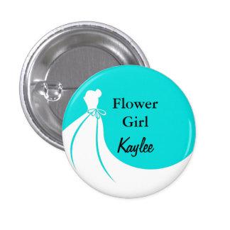 Flower Girl Flair Button