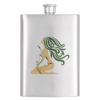 Flower Girl Flask