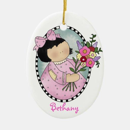 Flower Girl Gift Ornament