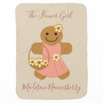 Flower Girl Gingerbread | Baby Blanket