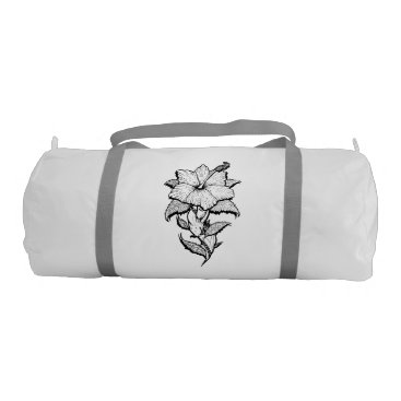 pacificstain Flower Girl Gym Bag