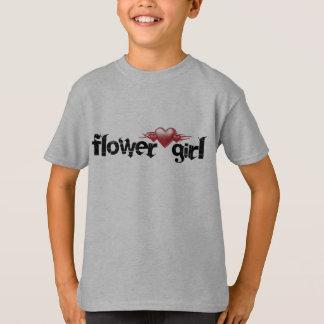 flower girl - heart T-Shirt
