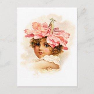 Flower Girl in Pink