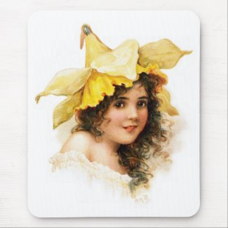 Flower Girl in Yellow
