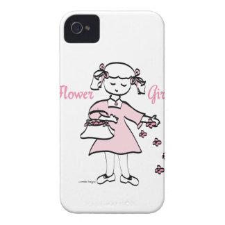 Flower Girl iPhone 4 Case-Mate Cases