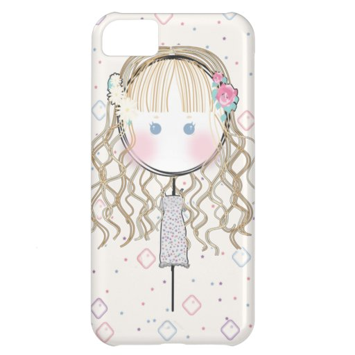 Flower Girl Iphone Case Case For iPhone 5C