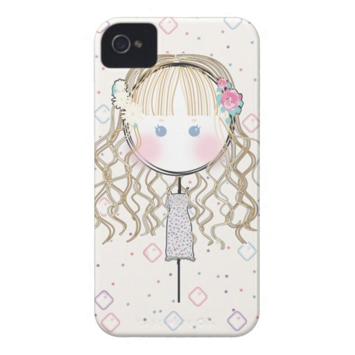 Flower Girl Iphone Case iPhone 4 Case