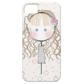 Flower Girl Iphone Case