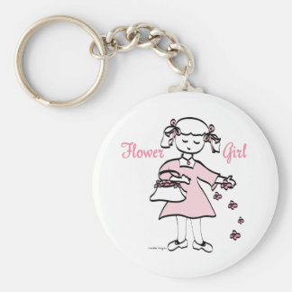 Flower Girl Keychains