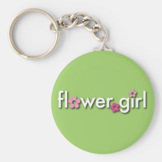 Flower Girl Keychain
