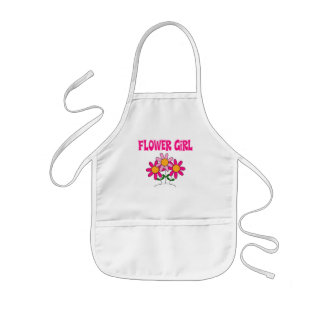 Flower Girl Kids' Apron