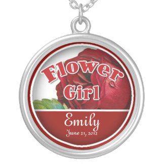 Flower Girl Necklace to Customize