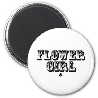 Flower Girl - Old West Magnet