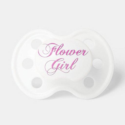 Flower Girl Pacifiers