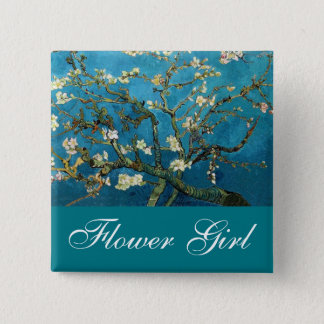 Flower girl pin Blossoming Almond tree