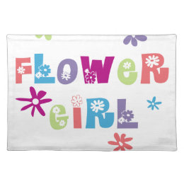 Flower Girl Placemat