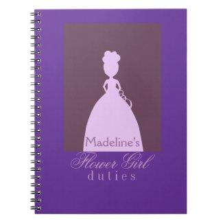 Flower girl Planner Note Books