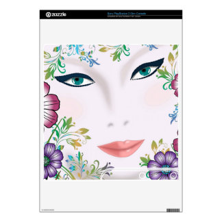Flower Girl PlayStation 3 Slim Console Skin, Decal For PS3 Slim