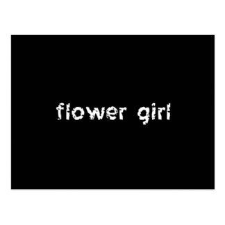 Flower Girl Postcard