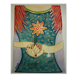 Flower girl posters