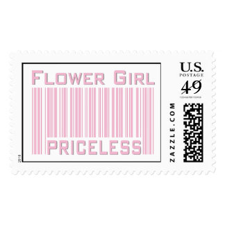 Flower Girl Priceless Stamp