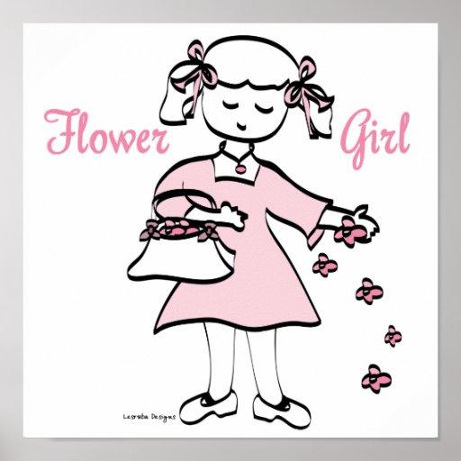 Flower Girl Print