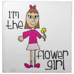 Flower Girl Printed Napkins