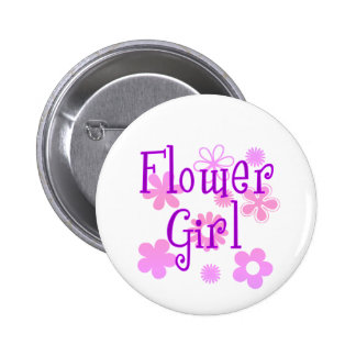 Flower Girl Products Button