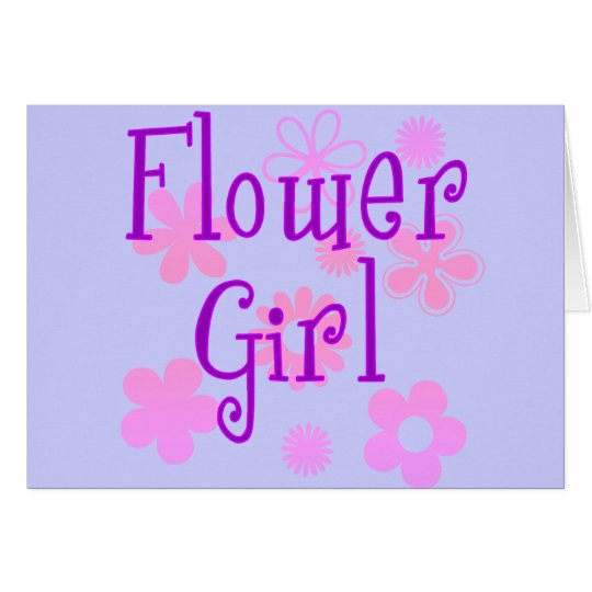 Flower Girl Products Card