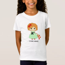 Flower Girl Proposal T-shirt - Red