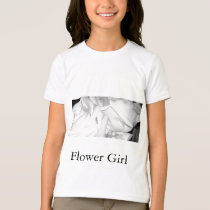 Flower Girl Roses T-Shirt