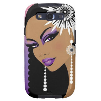 Flower Girl - Samsung Galaxy S3 Vibe Case Galaxy S3 Covers