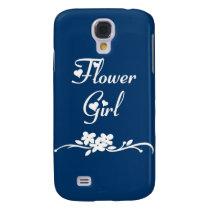 Flower Girl Samsung Galaxy S4 Case