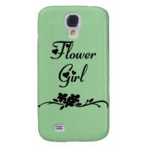 Flower Girl Samsung Galaxy S4 Cover